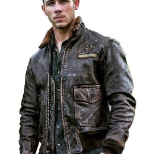 Nick Jonas Jumanji Jacket Leather
