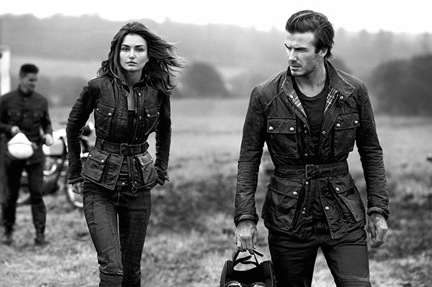 David Beckham Belstaff Roadmaster Jacket Leather