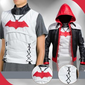 3602ef9f982 Arkham Knight Red Hood Jacket With Vest