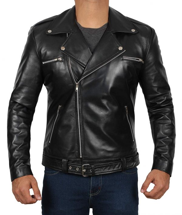 walking dead leather jacket