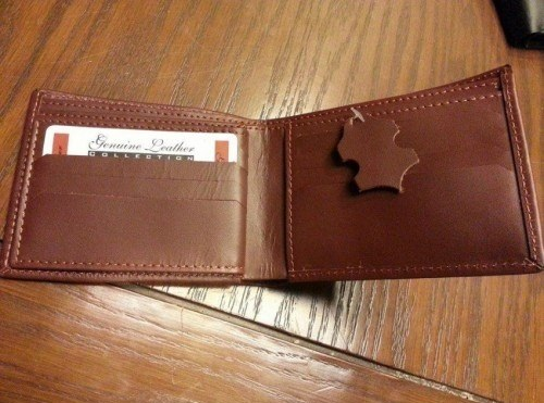 mens leather wallet brown sale