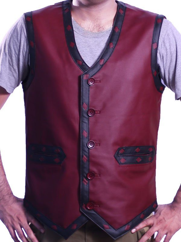 Warriors Vest Leather