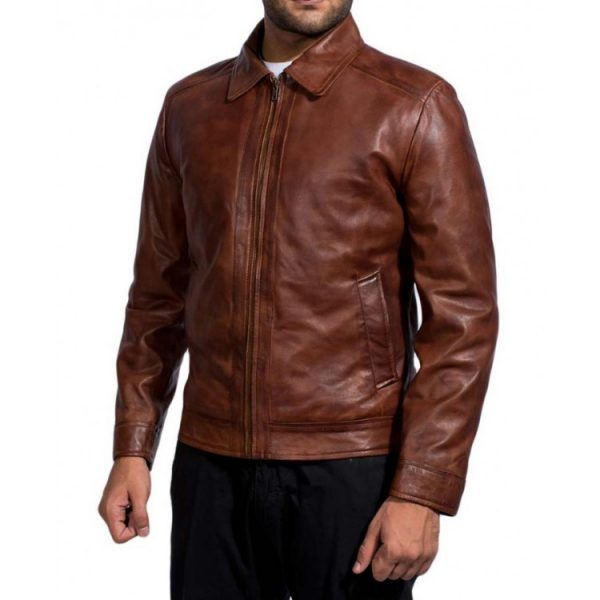 John Wick Leather Jacket Brown Keanu Reeves