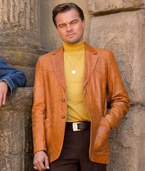 Rick Dalton Leather Jacket Once Upon A Time In Hollywood