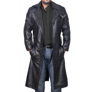 ryan gosling blade runner 2049 coat leather jacket officer k