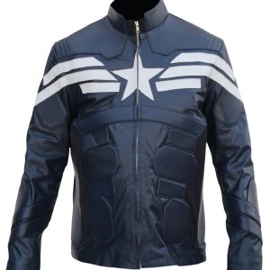 Captain America Winter Soldier Jacket Leather