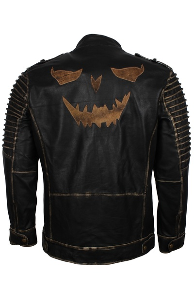 halloween leather jacket