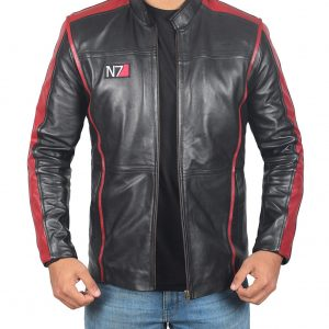 n7 leather jacket mass effect