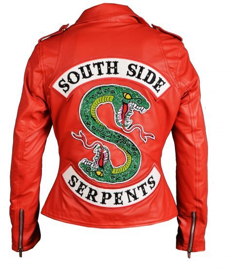 Red Serpents Jacket Leather | Womens Cheryl Blossom ...