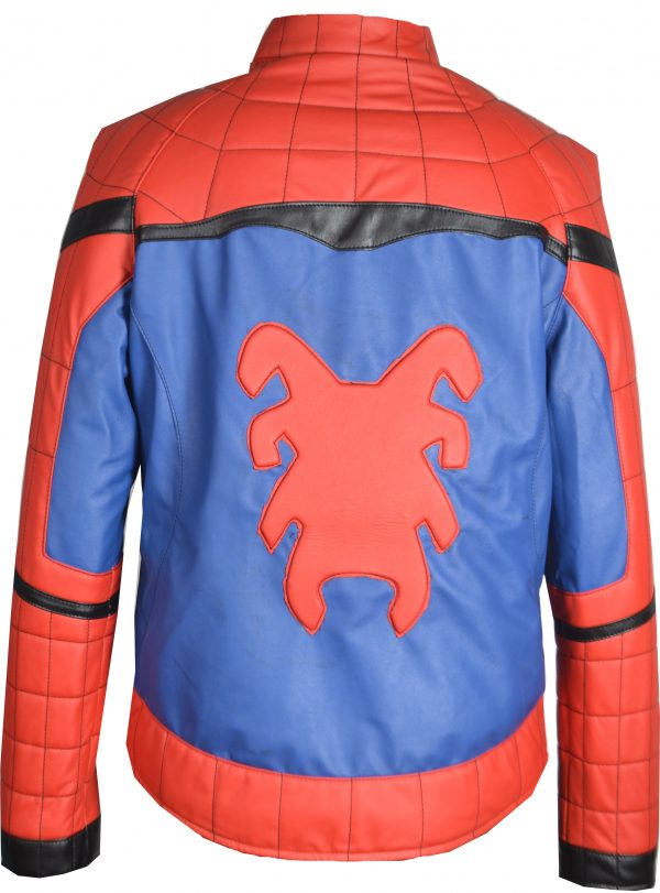 spider man homecoming leather jacket