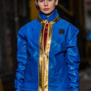 Womens Fallout 76 Leather Jacket