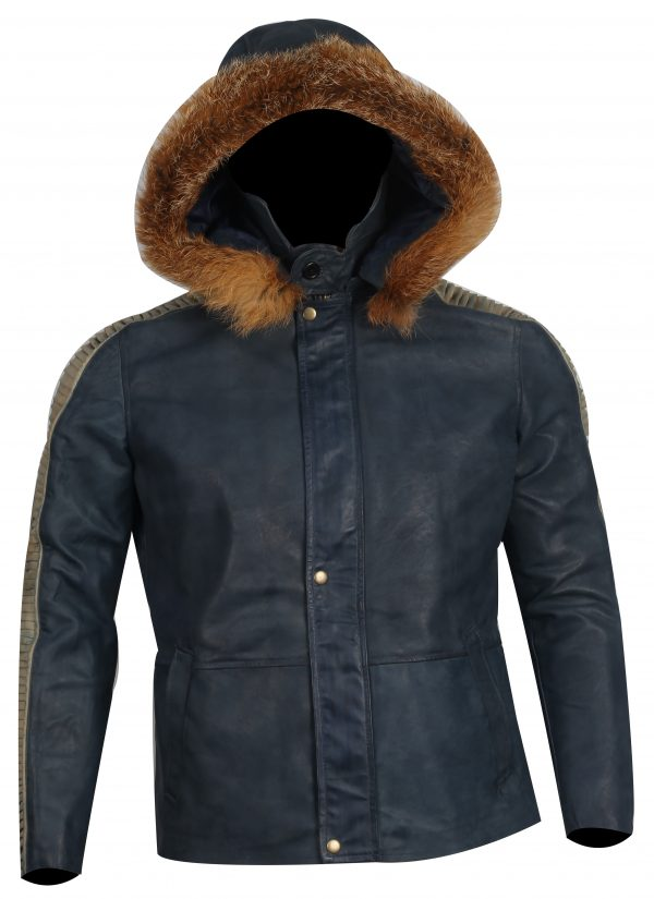 Captain Cassian Andor Parka fur jacket