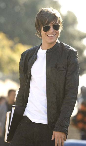 zac efron leather jacket