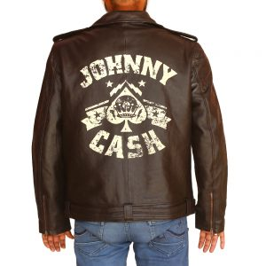 Men's Johnny Cash Leather Jacket