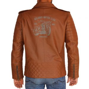 Men's Wilson's Biker Leather Jacket