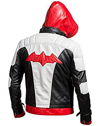 Batman Arkham Knight red hood jacket