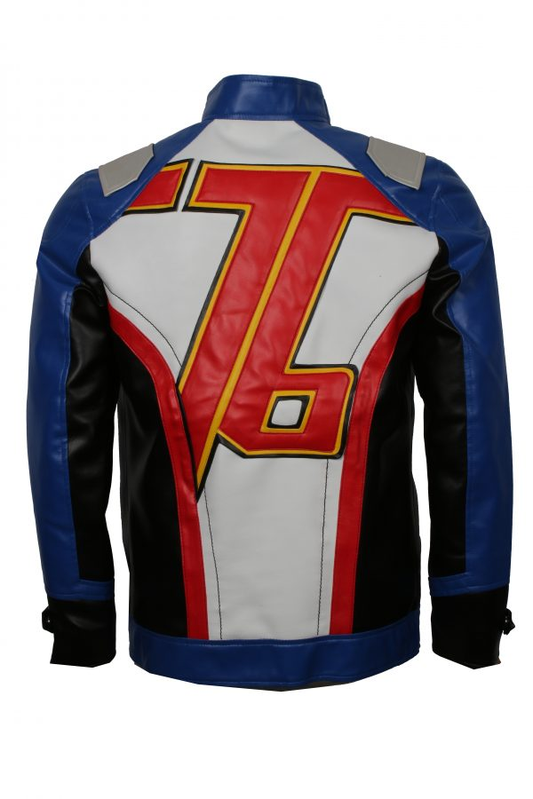 Soldier 76 Leather Jacket For Cosplay