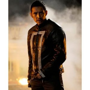 Robbie Reyes Jacket Leather Ghost Rider