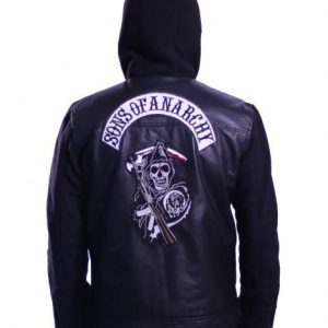 sons of anarchy zip up hoodie