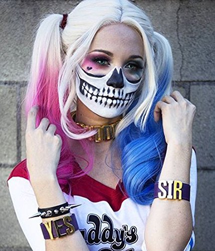 harley quinn wig lace front