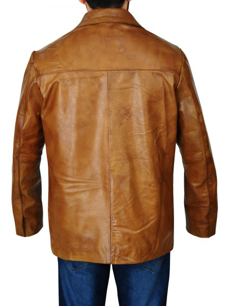 Leonardo DiCaprio Once Upon a Time in Hollywood Brown Jacket