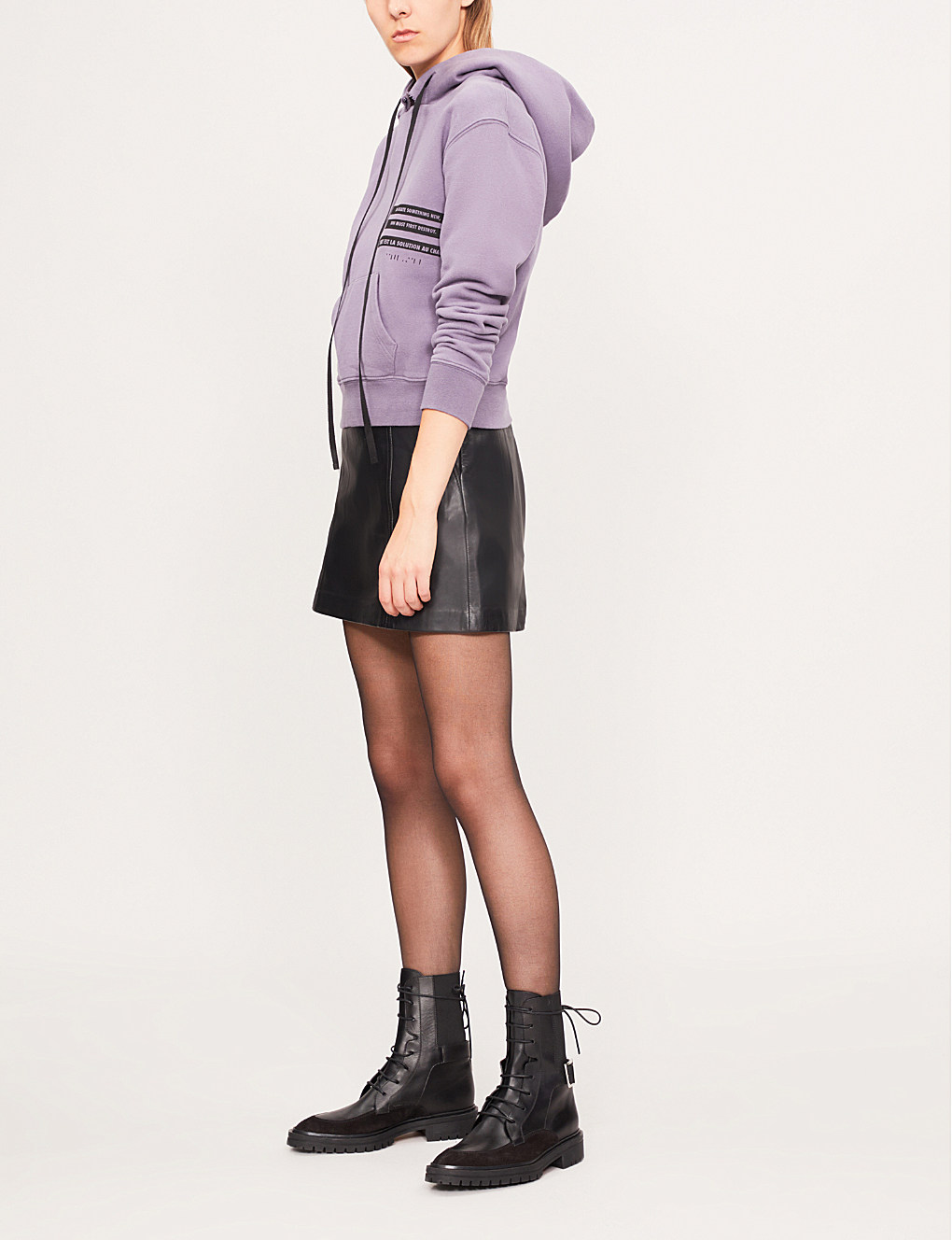 f6a9bac2371e Black Leather Skirt Mini For Womens Genuine Leather | On Sale Buy Now!