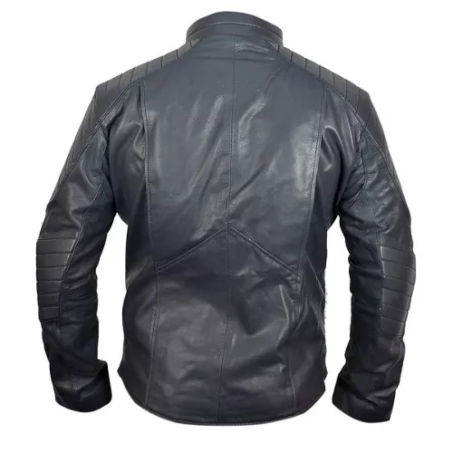 superman leathecler motorcy jacket