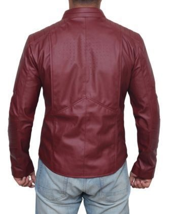 clark kent smallville jacket superman red leather