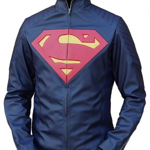 superman leather jacket for adults