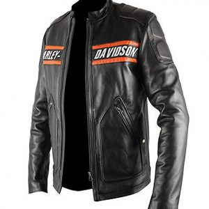 bill goldberg harley davidson jacket leather wwe