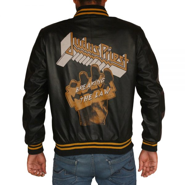Judas Priest Leather Jacket For Mens