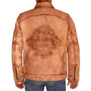 Gas Monkey Bike Club Leather Jacket